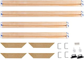 WITUSE Wood Stretcher Bars Painting Canvas Wooden Frame for Gallery Wrap Oil Painting,Needlepoint Stretcher Bars DIY,Canvas Mounting Frames-24
