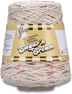Spinrite Lily Sugar'n Cream Cone Yarn Potpourri Prints