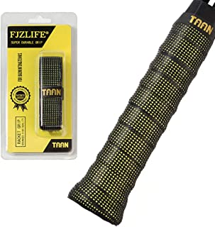 FJZ Perforated Super Absorbent and Anti-Slip Racket Grip,Ultra Cushion Replacement Grip for Tennis Overgrip,Badminton Over...