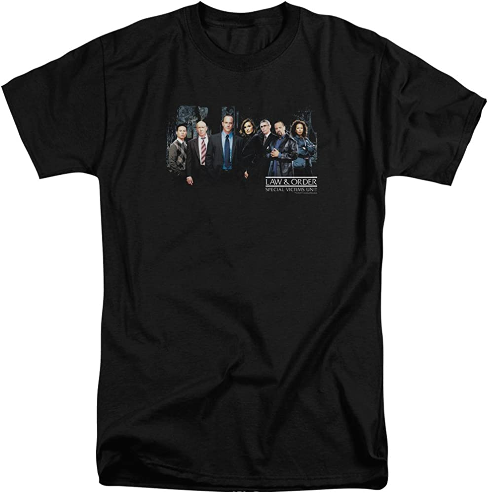 Law and Order SVU Cast Adult Tall Fit T-Shirt