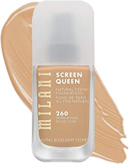 Milani Screen Queen Foundation - 260 Warm Bisque