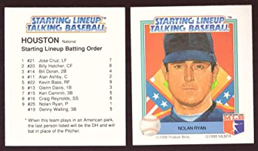 1988 Starting Lineup Talking Baseball HOUSTON ASTROS Team set