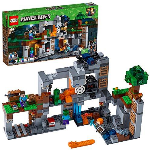 LEGO 21147 Minecraft Las Aventuras subterráneas