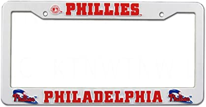 PHILADELPHIA PHILLIES Team Logo PLASTIC LICENSE PLATE FRAME
