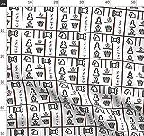 Schach, Spiel, Ritter, Krone Stoffe - Individuell Bedruckt