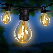 Festoon Light LED String 41M 40 Bulbs Halloween Christmas Water-resistant Outdoor Lighting Decoration Jingle Jollys XMAS H...