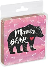 Tree-Free Greetings EC16044 EcoCoaster Set in Acrylic Box, Set of 4, Mama Bear Boho
