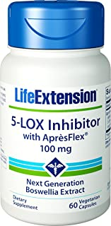 Life Extension - 5-Lox Inhibitor with Apresflex - 100 Mg - 60 Vcaps (Pack of 4)