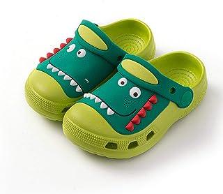 Suihyung Kids Summer Beach Shoes Boy Girls Sandals Cute Dinosaur Cave Garden Shoes Children Non-Slip Slippers Baby Toddler...