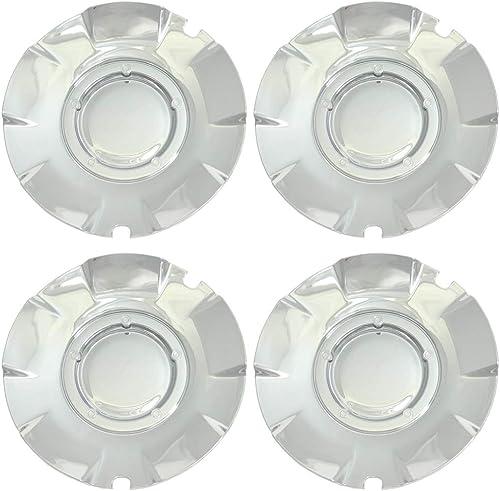 popular OxGord Center Caps for 03-07 outlet online sale Silverado/Sierra 1500 ( outlet online sale Set of 4) Wheel Covers -Replacement- Chrome online sale