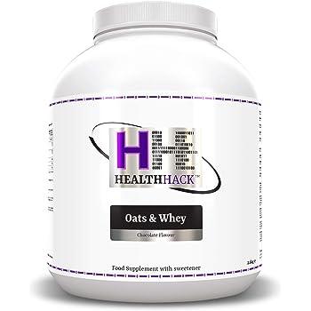 Health Hack - Avena y suero de leche, 2,5 kg, chocolate: Amazon.es ...