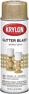 Krylon 3801 Glitter Blast Spray Paint, Golden Glow (6 Pack)