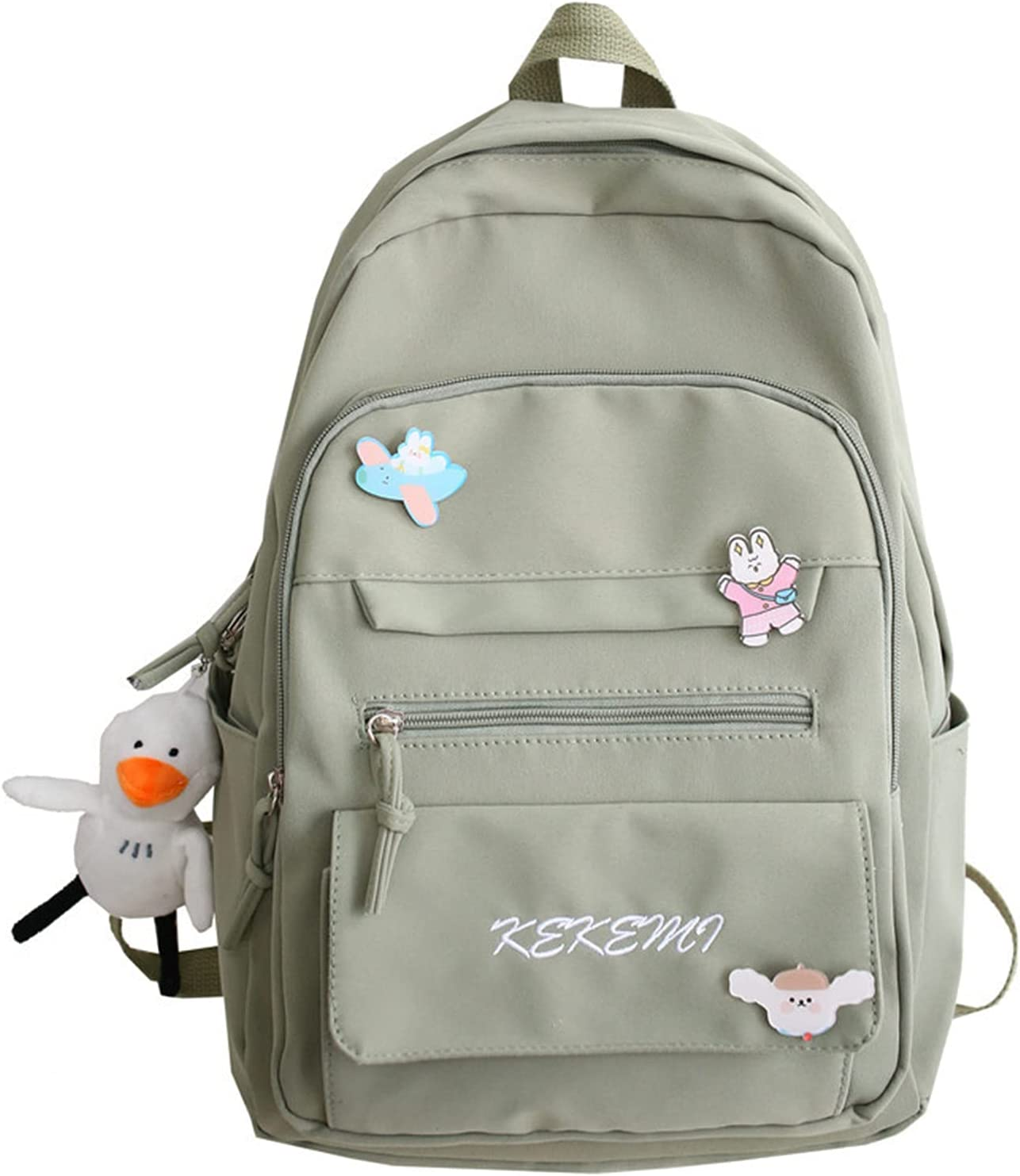 Kawai Backpack Rucksack with Kawaii Denver Mall Large discharge sale Student Aesthetic Cute Pin B