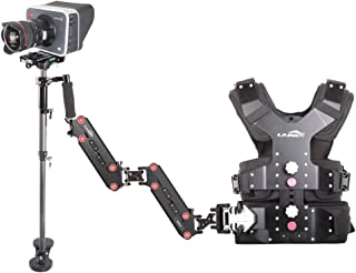 Laing 2015 New M-30S / with 1-15kg P-04S (P-04 Upgrade) Stabilizer and X-15S Vest Arm for Video Camera Dslr