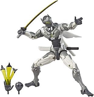 Overwatch Figura de acción Ultimates Chrome Genji (Hasbro E7391EU4)
