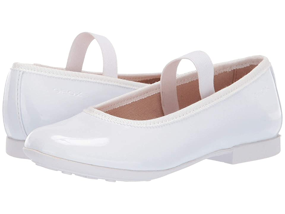 Geox Kids Plie Girl 51 (Little Kid) (White) Girl