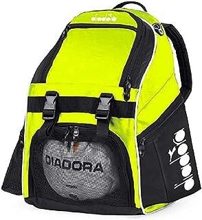 Diadora Squadra II Soccer Backpack (Matchwinner Yellow)