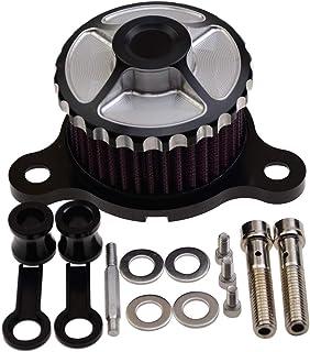 WOOSTAR Motorrad Luftfilter aus CNC Metall Ersatz für Harley Davidson Sportster XL883 XL1200 2004 2014 Luftfilter