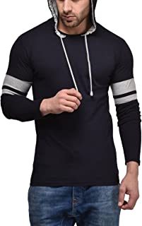 Cenizas Men's Plain Slim Fit T-Shirt