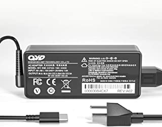 QYD 65W USB Type-C PD【急速ACアダプター】充電器 対応 Lenovo ノートパソコンLenovo ThinkPad T470 T470s T570 T480 T480s E580 E485 ThinkPad X1 Tabl...