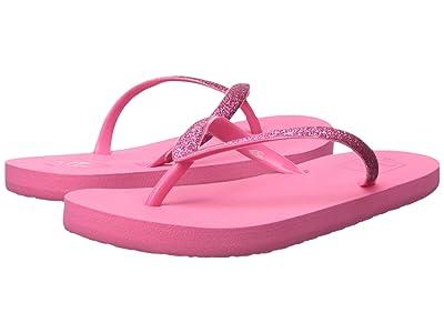 Reef Kids Stargazer (Little Kid/Big Kid) (Hot Pink) Girls Shoes