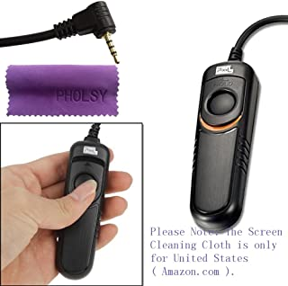 Pixel RC201/L1 Disparador Remoto por Cable para Panasonic umix DMC G1 G2 G3 G5 G6 G7 G10 G70 Gf1 GH2 GH3 GH4 GX7 L1 L10 LC-1 FZ20 FZ20K FZ20S FZ30 FZ30K FZ50 FZ50K FZ50S FZ100 FZ150 FZ200 Leica