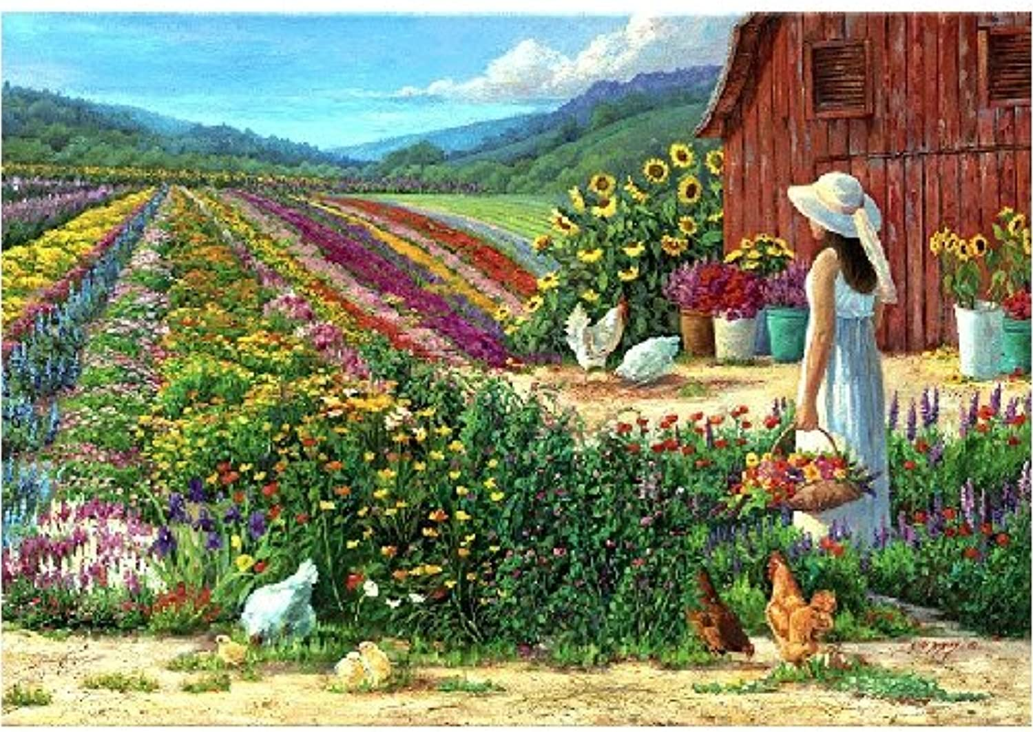 Country Living Jigsaw Puzzle 250pc