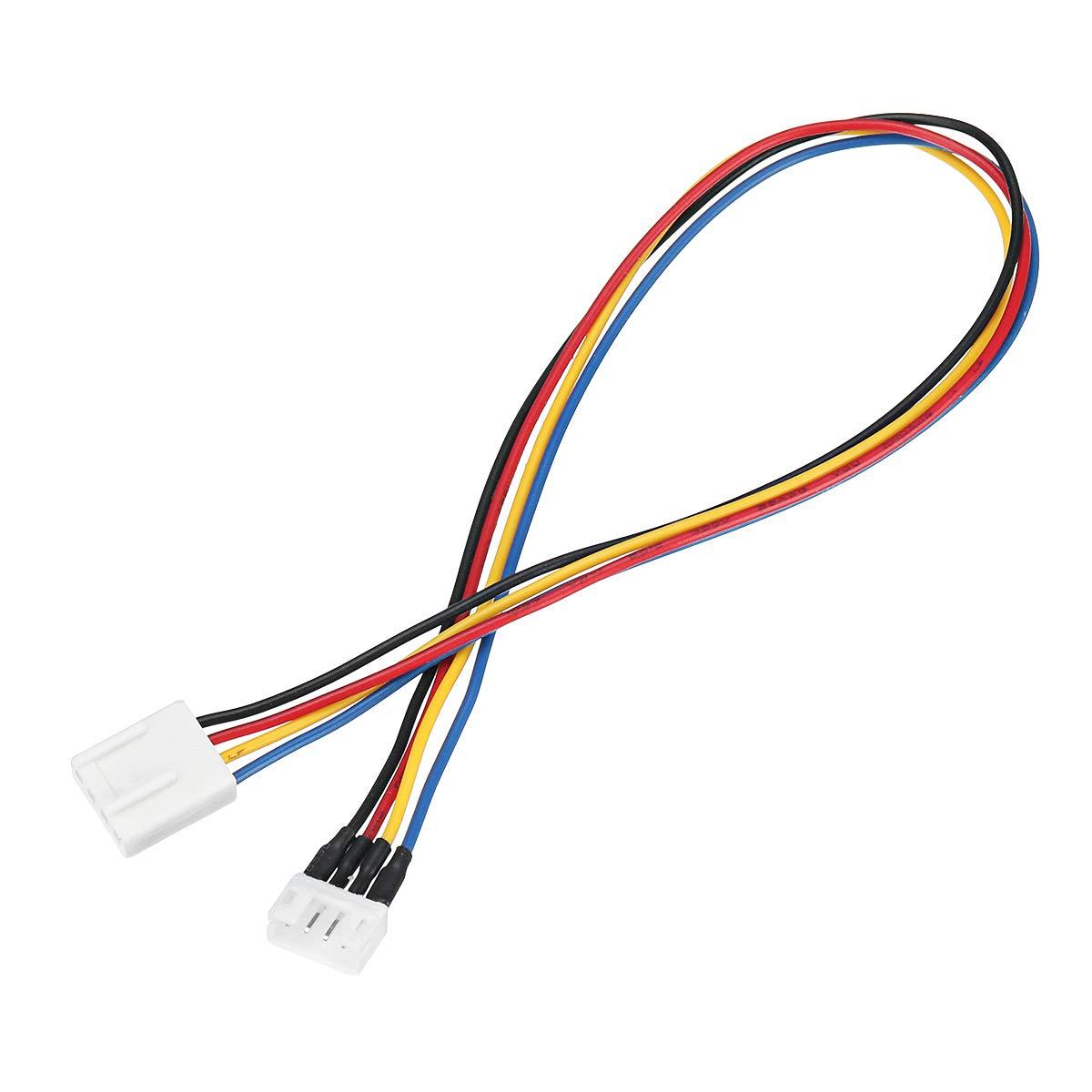 PANGUN 12Cm Pc 4-Pin Pwm Refrigeración Ventilador Conector Hembra ...