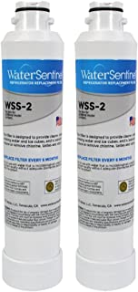 WaterSentinel WSS-2 Made in USA Refrigerator Replacement Filter: Fits Samsung HAFCIN Filters (2-Pack)