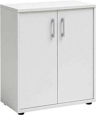 Armario bajo de cocina, blanco, de 60cm, con 1 puerta y 1 cajón: Amazon.es: Juguetes y juegos