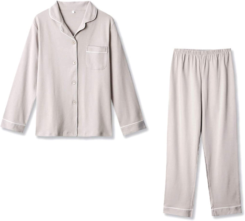 Top And Pants Soft Sleepwear Lounge Set Gray M