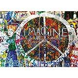 Doppelganger33 LTD Imagine John Lennon Peace Graffiti Home