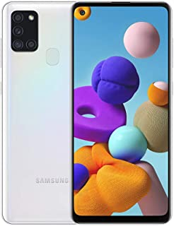 """Samsung Galaxy A21S (64GB, 4GB) 6.5"""", Quad Camera, All Day Battery Dual SIM GSM Unlocked Global 4G LTE VoLTE (T-Mobile, A..."""