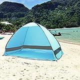 AZLife portátil Anti-UV 3–4Persona Pop up Playa Tienda Sol Refugio con Bolsa de...