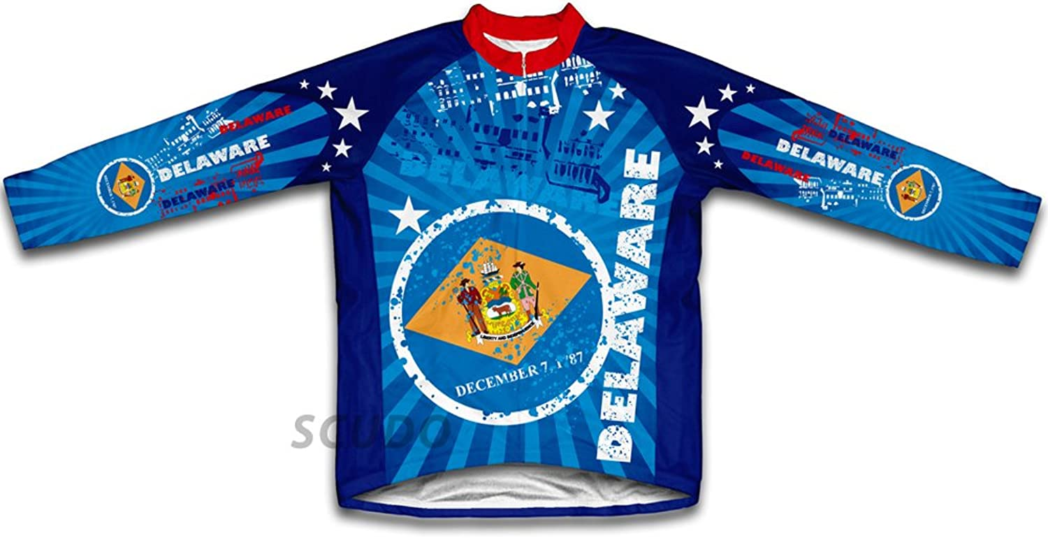 Delaware Winter Thermal Cycling Jersey for Women