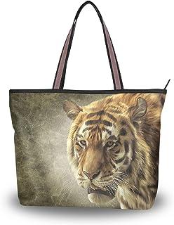 My Daily Damen Schultertasche Bengal Tiger Vintage Handtasche