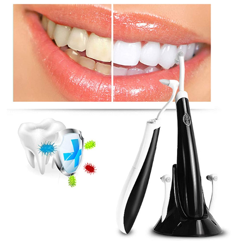超音波振動歯科口腔洗浄器、ライトガイド電動ソフトヘッドクリーニング大人の子供のための口頭歯