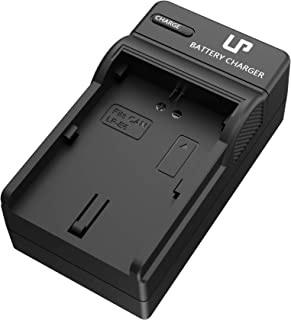 LP LP-E6 LP E6N Battery Charger, Compatible with Canon EOS 5D Mark II, 5D Mark III, 5D Mark IV, 5DS, 5DS R, 6D, 6D Mark II, 7D, 7D Mark II, 60D, 60DA, 70D, 80D, R DSLR Cameras, XC10, XC15 and More