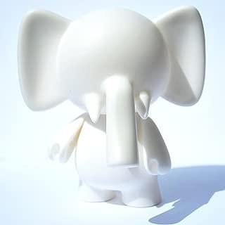 Trunks Diy Do-It-Yourself Urban Elephant Designer White Blank Vinyl Mini Figure