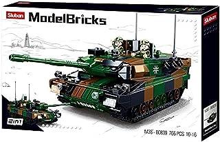 Sluban M38-B0839 Modelbricks-Leopard 2a5 Main Battle Tank 2in1