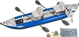 Sea Eagle 420X Explorer Kayak Pro Motor Fishing Rig