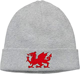 FORDSAN CP American Grown with Welsh Roots Mens Beanie Cap Skull Cap Winter Warm Knitting Hats.