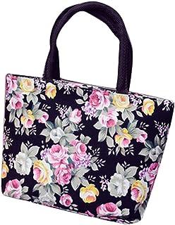 Wultia - Bags for Women 2019 Women Girls Printing Canvas Shopping Handbag Shoulder Tote Shopper Bag Luxury Handbags *0.92 Black