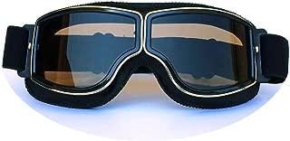 Aooaz TPU PC Retro Helmet Goggles Off Road Motorcycle Goggles Retro Goggles Riding Glasses