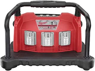 Milwaukee M28 3-Bay Battery Charger, Package Size: 1 Each
