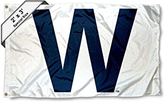 Chicago Cubs W Win 2x3 Foot Flag
