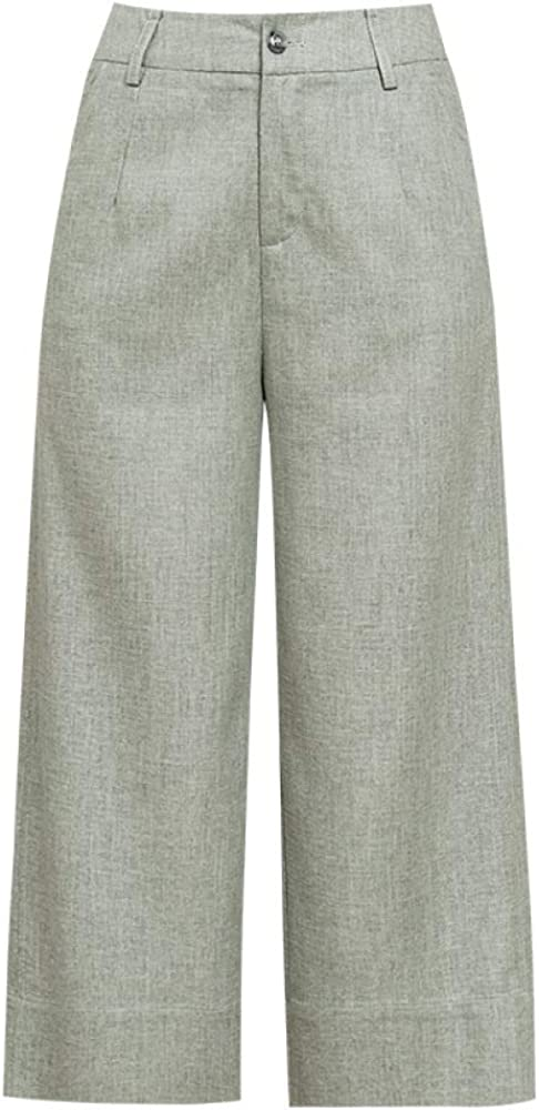 nobranded Linen Wide Leg Casual Pants Ladies Summer Thin Section Loose Cotton and Linen