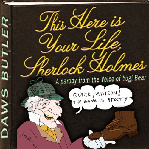 This Here is Your Life, Sherlock Holmes audiobook cover art