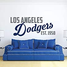 WinCraft MLB Los Angeles Dodgers 14420012 Multi-Use Colored Decal 5 x 6