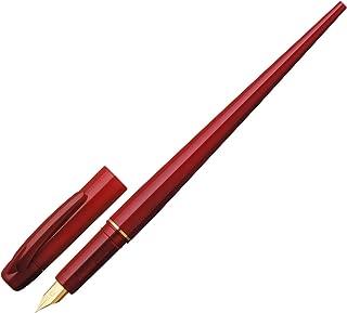 プラチナ万年筆 万年筆 デスクペン レッド 極細 DPQ-700A#10-1